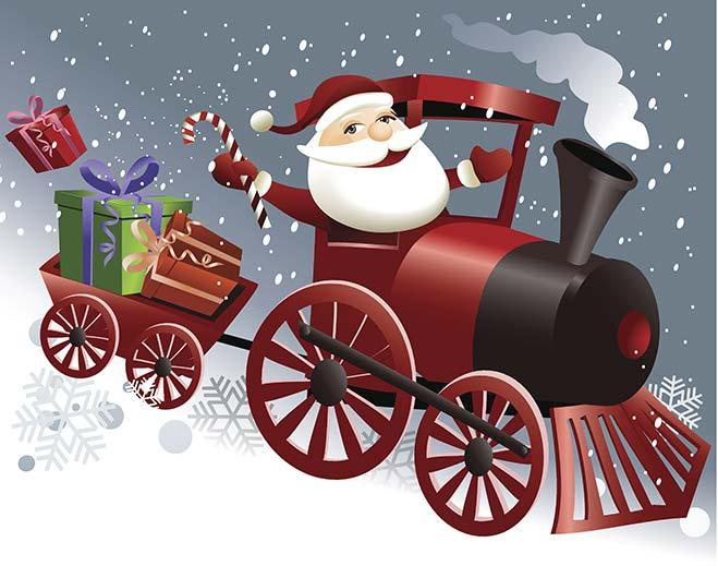 santa-in-train/